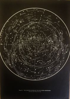 1950's Original Stars & Constellations Maps by oddlyends on Etsy, $34.00