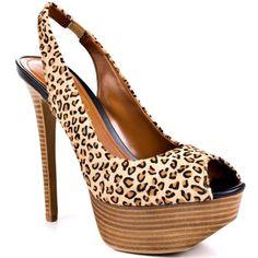 Jessica Simpson  Halie 4 - Tan Leopard