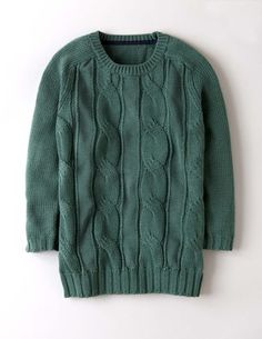 Cable Knit Sweater WK929 Sweaters at Boden