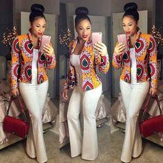 Women Dashiki Long Sleeve Fashion African Print Dashiki Short Casual Jacket Fashion Sale