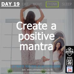 Welcome to Day 19 of the Free Ultimate You Healthy Habits Challenge brought to you by Sleekgeek and Positive Mantras, Diet And Nutrition, Healthy Habits, Challenges, Positivity, Weight Loss, Create, Day, Losing Weight