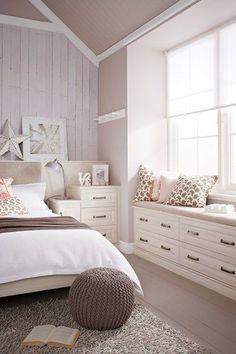 Window Seat - Bedroom Design Ideas  Pictures – Decorating Ideas (houseandgarden.co.uk) Bedroom ideas #decor #design