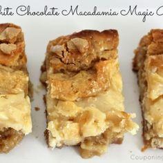White Chocolate Macadamia Magic Bar by kayleecol
