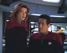 Captain Janeway and Chakotay - Counterpoint