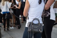 The Best Bags of New York Fashion Week Spring 2015 Street Style – Day Two - Page 13 of 21 - PurseBlog