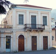 Old Greek, Neoclassical Architecture, Villa, Classic House, Townhouse, Colonial, Facade, Restoration, Mansions