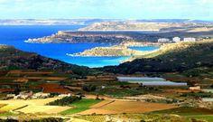 The lovely view from il-Kunċizzjoni. Malta