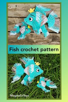 Unicorn (pony) crochet pattern is an 60 pages PDF pattern (with step by step photos) - Available in English. Size toy inch tall when made with the indicated or similar yarn. Crochet Fish, Crochet Mouse, Crochet Animals, Easy Crochet Patterns, Crochet Patterns Amigurumi, Handmade Toys, Handmade Ideas, Etsy Handmade, Rope Crafts