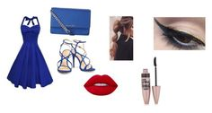"""""""Late night date night"""" by ireallydontcare16 ❤ liked on Polyvore featuring Schutz, MICHAEL Michael Kors, Lime Crime, Mehron and Maybelline"""