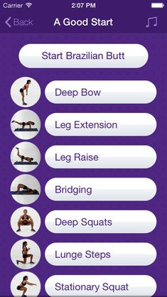 Brazilian Butt – Personal Fitness Trainer App – Daily Workout Video Training Program for Nice Bikini Buttocks Lift and Beautiful Legs on the App Store