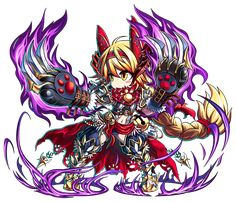 Wild Cat Nyami Brave Frontier, Alley Cat, Character Art, Character Ideas, Fantasy Characters, Amazing Art, Chibi, Cool Art, Illustration Art
