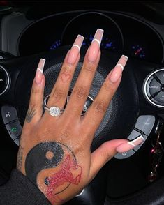 Drip Nails, Bling Acrylic Nails, Best Acrylic Nails, Cute Nails, Pretty Nails, Dope Tattoos For Women, Nagellack Design, Girls Nails, Nagel Gel