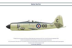 Sea Fury GB 810 NAS 1 by WS-Clave.deviantart.com on @DeviantArt