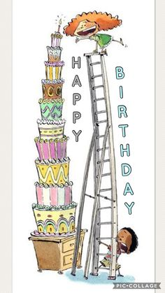 The bigges, bestest birthday cake in the world - Rico Schacherl Happy Birthday Wishes Quotes, Happy Birthday Kids, Happy Birthday Celebration, Birthday Blessings, Happy Birthday Images, Happy Birthday Greetings, Funny Birthday Cards, Birthday Pictures, Birthday Greeting Cards