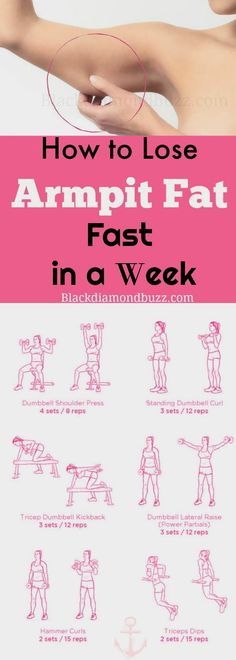 How to Lose Armpit Fat Fast in a Week - Slim arms fast now .Included  are the best exercises to reduce flabby upper arms fat and bat wings quickly.Get rid armpit fat now. Try it.  #reducearmfat #losearmpitfat #exercises #upperbody  https://www.blackdiamondbuzz.com/best-armpit-fat-exercises-get-rid-underarm-fat-back-bulge-week/