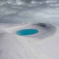 Pool inside a crater Iceland. Photo - Antony Spencer. Follow  @TheBeautyOfThailand #OurLonelyPlanet Hotels-live.com via https://instagram.com/p/6ft0lJxtEd/