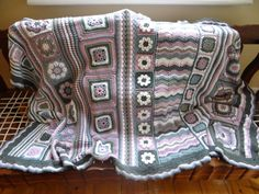 I must try one of these! Seems like a great project to learn stitches and such a beautiful finished piece! ~ABonanno