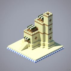 [Guide] Fortified House - Minecraft World Minecraft Desert House, Minecraft Castle, Minecraft Plans, Minecraft House Designs, Minecraft Blueprints, Minecraft Creations, Minecraft Crafts, Minecraft Stuff, Minecraft Structures
