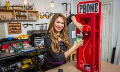 Home & Family - Tips & Products - Shirley Bovshow's DIY Cell Phone Charging Station   Hallmark Channel