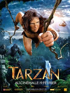 Tarzan affiche france animation