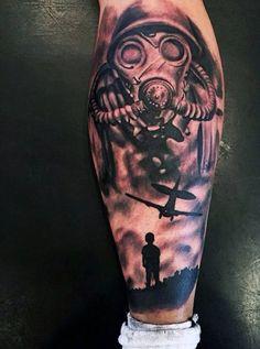 Creative War And Military Tattoo Designs For Men   tatuajes | Spanish tatuajes  |tatuajes para mujeres | tatuajes para hombres  | diseños de tatuajes http://amzn.to/28PQlav