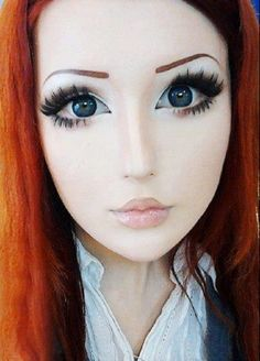 anime makeup | Real Life Anime Girl: Anastasiya Shpagina from Ukraine Transforms ...