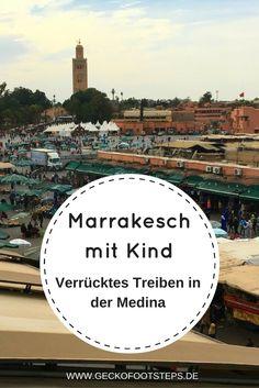 Marrakesch ist bunt, laut und total crazy. Doch wie es eigentlich für…