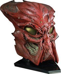 Ceremonial Predator Mask Prop Replica @  sideshowtoy.com
