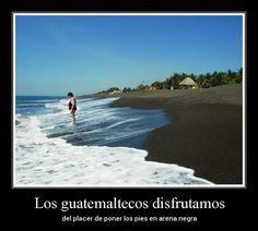 #GuateCumpleAños - Gracias Guatemala por el éxtasis de tu arena negra