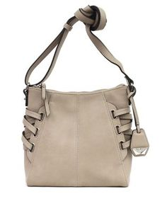 Leila Faux Leather Crossbody Bag