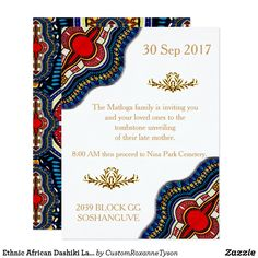 Shop Ethnic African Dashiki Lace Wedding Party Cards created by CustomRoxanneTyson. African Wedding Theme, African Theme, African Weddings, Nigerian Weddings, Wedding Invitation Wording, Zazzle Invitations, Invitation Cards, Invitation Maker, Invitation Design