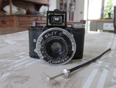 Vintage French Miniature Spy Camera   Eljy by letrucvintage