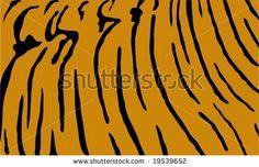 Tiger Print Stock Vector 19539652  Shutterstock cakepins.com