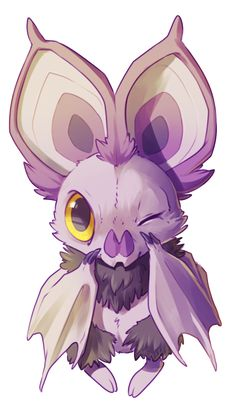 Noibat from Pokemon Baby Pokemon, Pokemon Team, Pokemon Fan Art, Pokemon Comics, Cute Drawings, Animal Drawings, Kalos Pokemon, Deviantart Pokemon, Pokemon Pictures