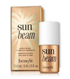 sun beam golden bronze highlighter | Benefit Cosmetics Aaaahhhh I need this!!!