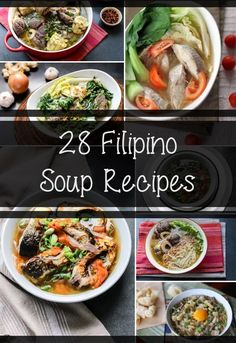 Getting colder in where you are? Winter is near and to survive it let me introduce to you these Filipino soup recipes you can try at home.