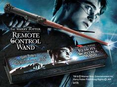 The HARRY POTTER Remote Control Wand Product Detail. Swish and Flick!
