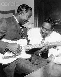 Muddy Waters (April 4, 1913 – April 30, 1983) & Otis Spann March 21, 1930 – April 24, 1970)