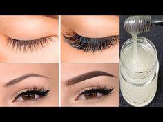 Jak urosnąć brwi i rzęsy w 1 dzień!   Serum do rzęs i brwi - YouTube Natural Hair Growth, Natural Hair Styles, Eyelashes, Eyebrows, Natural Face Cleanser, Eyebrow Growth Serum, Learn Makeup, Face Care Routine, Eyelash Extensions