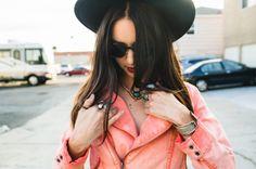 san diego fashion blogger hays of nug; coral jacket jewelry Martina Micko | Destination Wedding Photographer | San Diego, LA, NYC, International »
