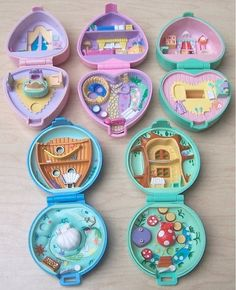 Back in the day when Polly Pocket's little world actually fit in your pocket.