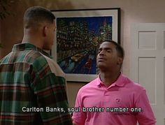 Fresh Prince Of Bel Air - Carlton Banks Captions Prince Of Bel Air, Fresh Prince, Will Smith Tv Show, Series 4, Best Shows Ever, Number One, Funny Pictures, Humor, 90s Things