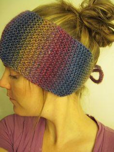 Sara Kay Hartmann Designs: Betsy Headwrap ~ A Free Knitting Pattern