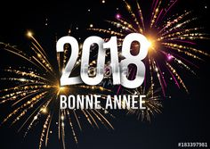 Welcome New year 2018 greeting banner vector illustration with fireworks in the background Illustration , Welcome New Year, New Year 2018, Banner Vector, Fireworks, Neon Signs, Christmas Ornaments, Cool Stuff, Holiday Decor, Vector Background