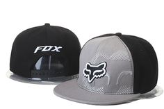 Fox Snapback Hats Gray/Black 047|only US$20.00 - follow me to pick up couopons.