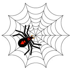 Illustrator Tutorial: Halloween Spiders and Webs, Part 1: Spinning the Web