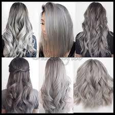 Resultado de imagem para black to grey ombre hair