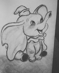 Dumbo 2019 – Graffiti World Easy Disney Drawings, Disney Drawings Sketches, Cartoon Sketches, Art Drawings Sketches Simple, Pencil Art Drawings, Animal Drawings, Cute Drawings, Sketch Art, Dumbo Drawing