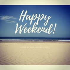 Happy weekend to all! #Spain #beach #weekendgetaway #love #relax