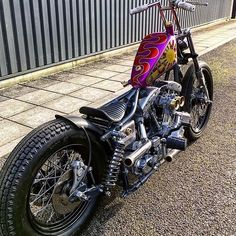 OLD SCHOOL CHOPPERS — Really cool shovelhead from  @rocketbobs...
